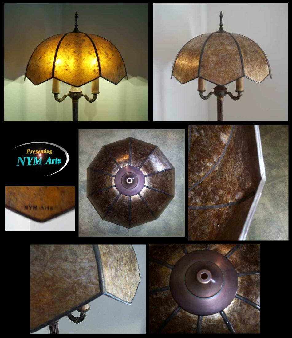10 point mica lamp shade