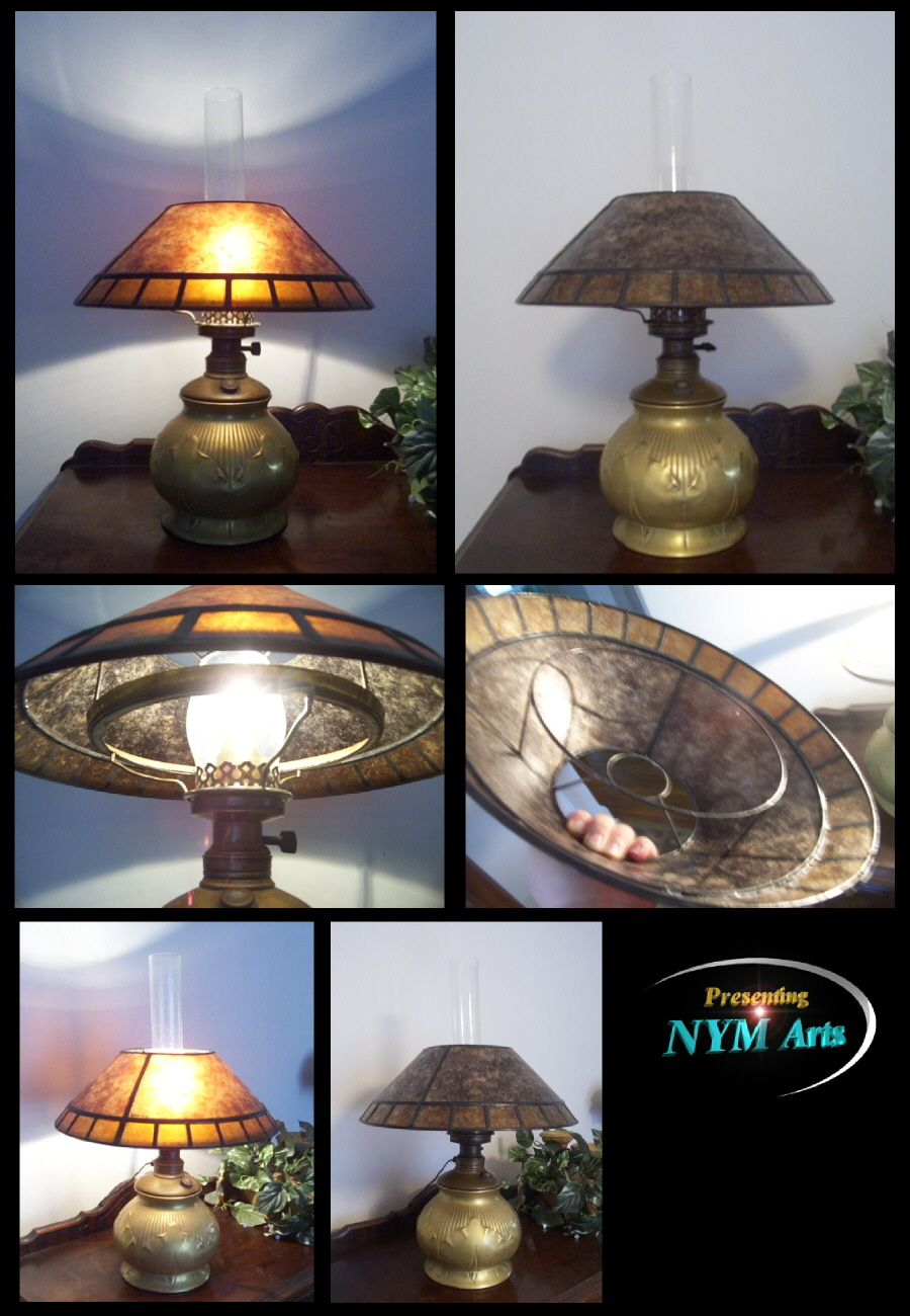 Neds kerosene lamp shade that fits on the brass shade ring this is a fringed kerosene shade pictured in dark and light ambers aloadofball Choice Image